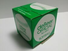deBeer Official No. dB12 Softball New in Box