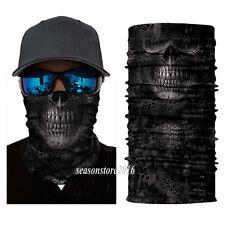 SKULL Fishing Hunting Face Shield Sun Mask Headwear UV Neck Scarf Camping