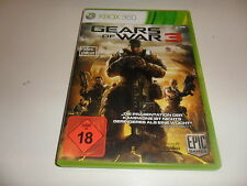 XBox 360  Gears of War 3  USK 18