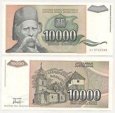 Yugoslavia 10000 Dinara 1993 Pick 129 UNC Uncirculated Banknote