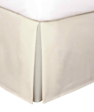 "Levinsohn Luxury Hotel 14"" Tailored Bedskirt Ivory Queen"