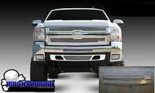 07-10 GM CHEVY SILVERADO 2500 3500 HD POLISHED STAINLESS STEEL MESH T-REX GRILL