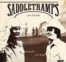 THE SADDLETRAMPS gun for hire ZBL 001 uk zipp records LP PS VG/EX