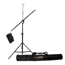 Heavy Duty Reclined 2-in-1 Boom Stand Kit +120cm Carry Bag TOP SELLER Sturdy