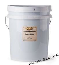 Unsulphured Blackstrap Molasses - 5 Gallon Pail