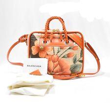 Balenciaga blanket square small floral runway shoulder bag Rare hard to find