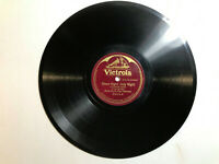 "10"" 78 RPM Victrola Red Seal Record - Alma Gluck, Paul Reimers Cat# 3014, 1920's"