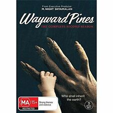 WAYWARD PINES - SEASON 2  -  DVD - UK Compatible sealed
