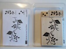 Vine & Berry AND Roses In Winter Stampin Up! 2003, Definitely Decorative Exc Con