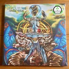 "Sepultura - Machine Messiah 12"" Coloured  Vinyl Lp Sealed"
