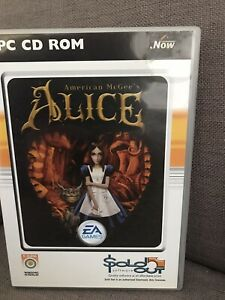 AMERICAN McGEE'S Alice PC Game Boxed CD-Rom Video Game (EA 2000)