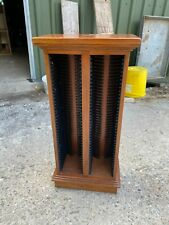 Solid Wooden CD Rack Tower