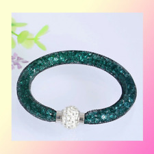 Stardust Bracelet Swarovski Elements Valentine Gift (Free Crystal Stud Earrings)