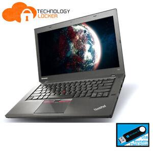 Lenovo ThinkPad T450 Touch Intel Core i5-5300U @2.30GHz 8GB 128GB Win10 Laptop