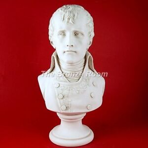CARRARA MARBLE BUST OF NAPOLEON AS FIRST CONSUL - MADE IN THE UK