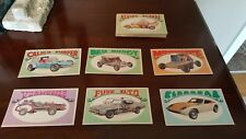 1970 Topps Way-Out Wheels Hot Rod Card Collection