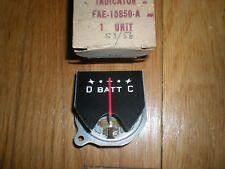 NOS 1953 1954 1955 FORD F100 F250 AMMETER GAUGE