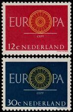 ✔️ NETHERLANDS 1960 - EUROPE EUROPA CEPT - NVPH 745/746 ** MNH OG