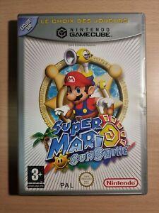 Super Mario Sunshine Nintendo Gamecube PAL FR VF Game Cube