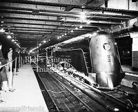 New York Central photo  Commodore Vanderbilt Streamline Steam Trainstation1938