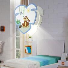 Led Hanging Lamp Monkeys Motif Multicolour Boys Girl Children Game Room Lighting