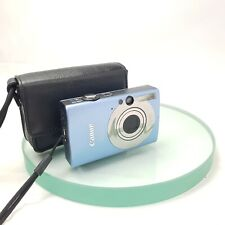 Canon IXUS 82 IS 8.0MP Digital Camera - Blue, Tested, CASED #863
