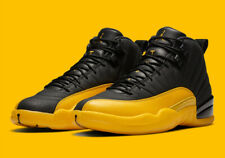 Men's Air Jordan Retro 12 Black/University Gold