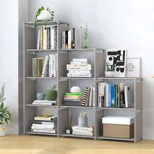 9 Cube Bookcase Shelf Display Furniture Storage Shelving Unit Living room Office