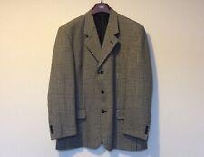 "Mens' Burton Vintage Grey Wool Mix Sports Jacket Blazer Coat Size 42""S  Short"