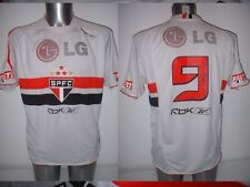 Sao Paulo Reebok 9 Adult Large Jersey Soccer Football Vintage Brazil Top Trikot
