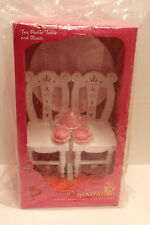 """New Mib Our Generation Tea Parlor Table & Chair Set Fun & Adventure for 18"""" Doll"""