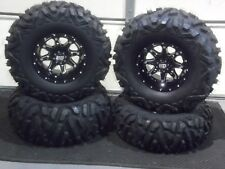 "CAN AM RENEGADE 800,850 27"" QUADKING ATV TIRE & STI HD4 WHEEL KIT CAN1CA"