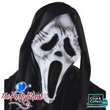 GHOST FACE WRINKLED MUMMY MASK Official Halloween Scream Costume Mask 1550M