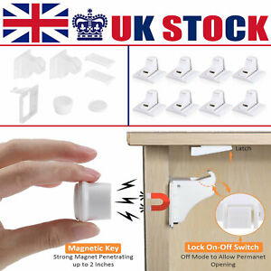 Invisible Child Baby Safety Magnetic Locks Latches Cupboard Drawer Door Lock Set