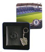 Official Chelsea Wallet & Keyring Gift Set - X700 - 3