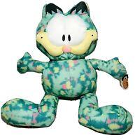 """GARFIELD Jumbo Tye Dye 25"""" Plush 40th Anniversary Stuffed Animal Toy Factory New"""