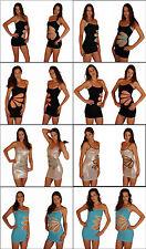 Ärmellose Stretchkleider mit Trägern für Clubwear-Anlässe