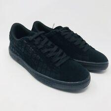 e6323693b9aa New Puma Boy s Suede On Suede Black Shoe Sneakers Sz 5.5 Boys NIB