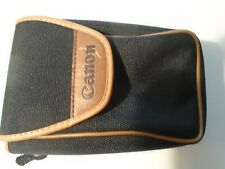 Vintage Canon Camera Pouch bag with Beltloop for Waist Canon Logo Velcrow Strap