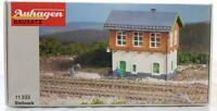 MINT AUHAGEN 11 333 HO GAUGE - MODEL RAILWAY SIGNAL BOX, 110 x 70 x 90 mm