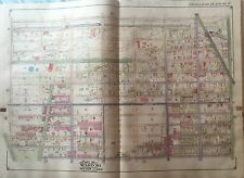 Orig 1917 Brooklyn Bensonhurst Dyker Heights Ny McKinley Park P.S.176 Atlas Map