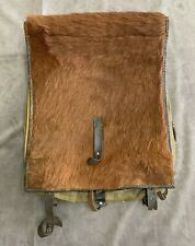 Authentic Original Wwii German Army Tornister Horse Hair Back Pack 1940 Dated