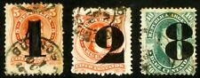 Argentina Stamps # 30-2 Used Scott Value $140.00