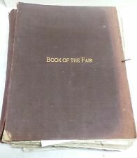 The Book of the Fair an Historical and Descriptive Presentation of the World's S