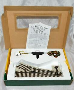 S Helper Service #00298 RC Right Hand #3 Switch track S scale roadbed style C7
