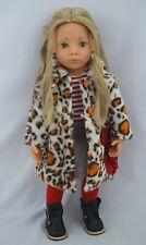"""19"""" Gotz happy kidz emma doll blond hair and gray eyes"""