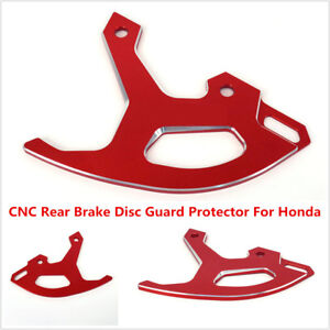 Motorcycle CNC Rear Brake Disc Guard For Honda CR125R/250R CRF250R /X CRF450R /X
