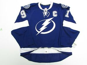 STAMKOS TAMPA BAY LIGHTNING AUTHENTIC HOME TEAM ISSUED REEBOK EDGE 2.0 JERSEY