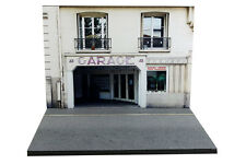 Diorama Garage parisien / Parisian garage - 1/43ème - #43-2-B-B-017