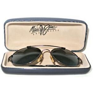 MAUI JIM Sunglasses Flexon Titanium MJ-308-02 KAPALUA with Clamshell Case